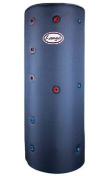 Langå akkumuleringstank 200 L med isolering og sanitetsspiral