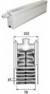 Purmo pris radiator CV22- 200 mm